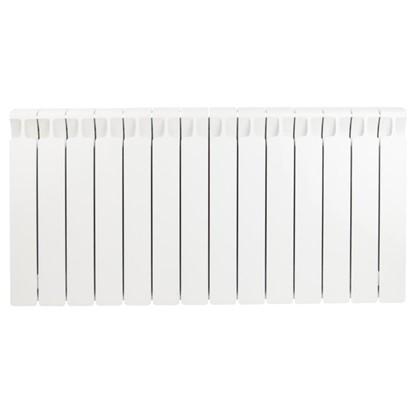 Биметаллический радиатор Rifar Monolit 500 14 секций боковое подключение