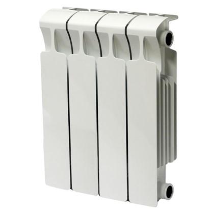 Биметаллический радиатор Rifar Monolit 500 4 секции нижнее правое подключение