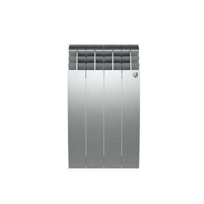 Биметаллический радиатор Royal Thermo BIliner 500/4 Silver Satin цена