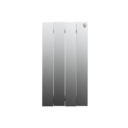Биметаллический радиатор Royal Thermo Pianoforte 500/4 Silver Satin цена
