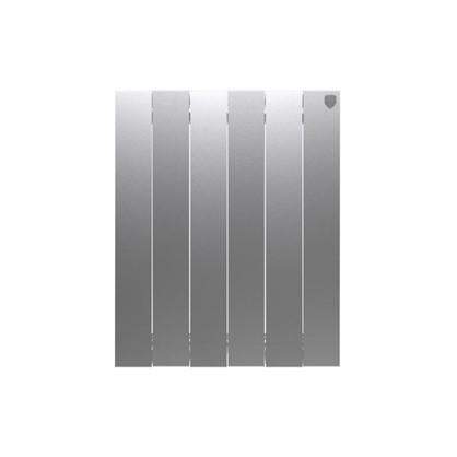 Биметаллический радиатор Royal Thermo Pianoforte 500/6 Silver Satin