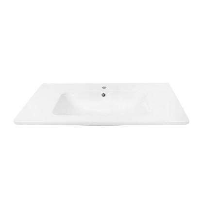 Раковина для тумбы Эйфория 100 см эмалированная керамика цвет белый цена