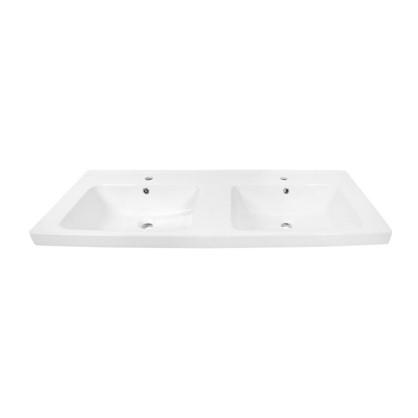 Раковина для ванной Гармония 125 см эмалированная керамика цвет белый цена