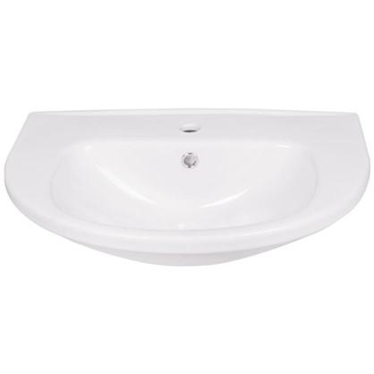 Раковина для ванной Gesso W 101 керамика 60 см цвет белый цена