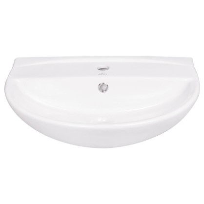Раковина для ванной Mito Red керамика 55 см цвет белый
