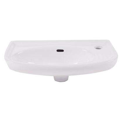 Раковина для ванной прямоугольная Антонелла керамика 26 см цвет белый