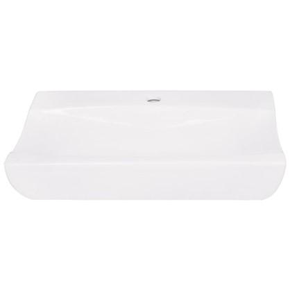 Раковина для ванной прямоугольная Илена керамика 38.9 см цвет белый цена