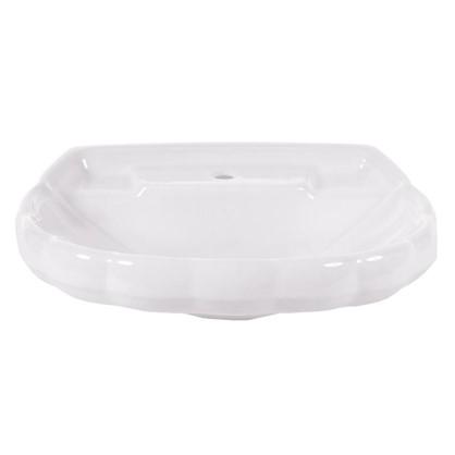 Раковина для ванной Sanita Ромашка фарфор 40 см цвет белый