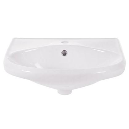 Раковина для ванной Sanita Самарская фарфор 44.5 см цвет белый цена