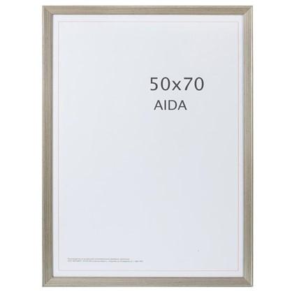 Рамка Aida с патиной цвет серебро размер 50х70 цена