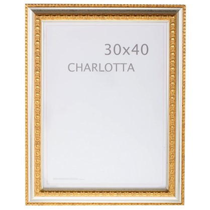 Рамка Charlotta 30х40 см пластик цвет золото