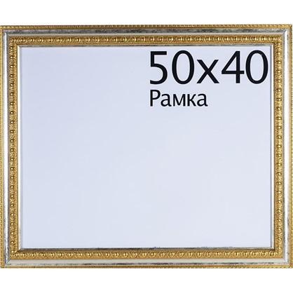 Рамка Charlotta 40х50 см пластик цвет золото