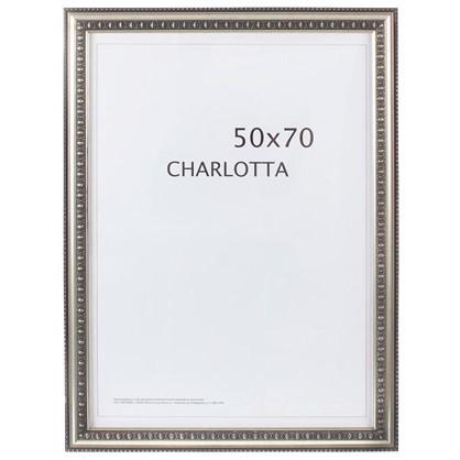 Рамка  Charlotta цвет серебро размер 50х70 цена