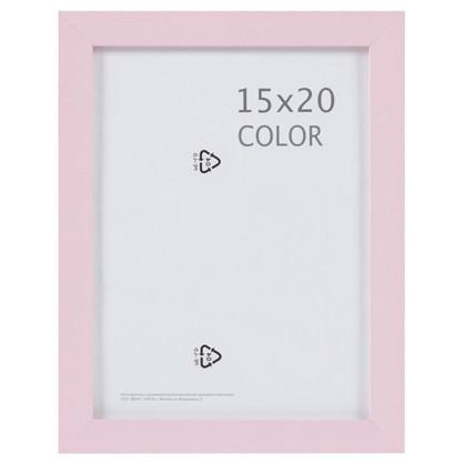 Рамка Inspire Color 15х20 см цвет розовый