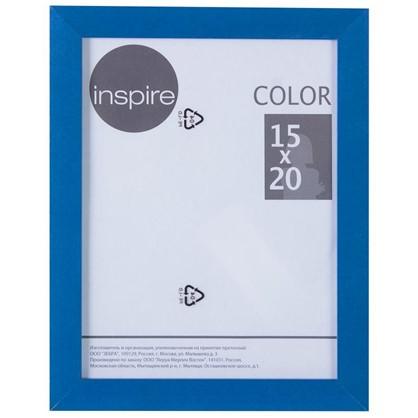 Рамка Inspire Color 15х20 см цвет синий цена