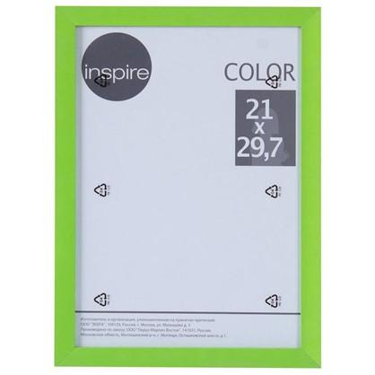 Рамка Inspire Color 21х297 см цвет зеленый цена