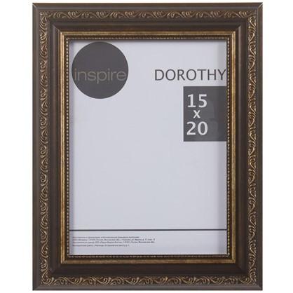 Рамка Inspire Dorothy цвет коричневый размер 15х20