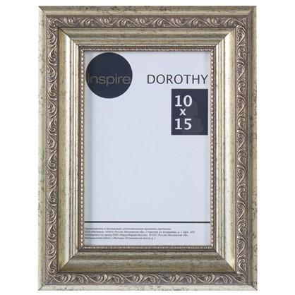 Рамка Inspire Dorothy цвет серебряный размер 10х15 цена