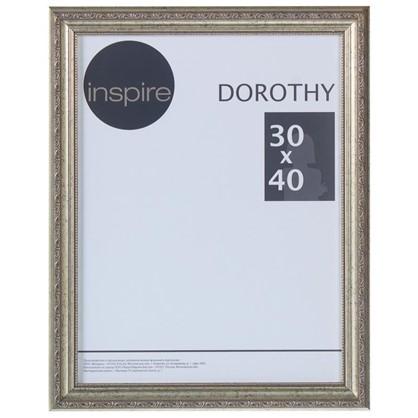 Рамка Inspire Dorothy цвет серебряный размер 30х40