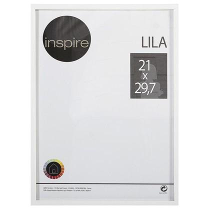 Рамка Inspire Lila 21х297 см цвет белый цена