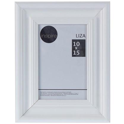 Рамка Inspire Liza 10x15 см цвет белый цена