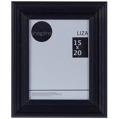 Рамка Inspire Liza 15x20 см цвет черный цена