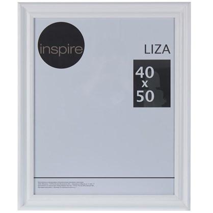 Рамка Inspire Liza 40x50 см цвет белый цена