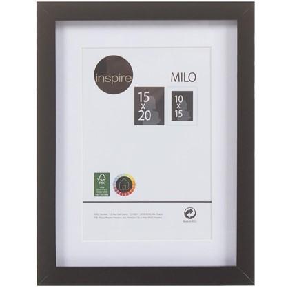 Рамка Inspire Milo 15х20 см цвет черный цена