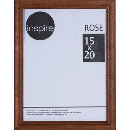 Рамка Inspire Rose 15х20 см дерево цвет коричневый