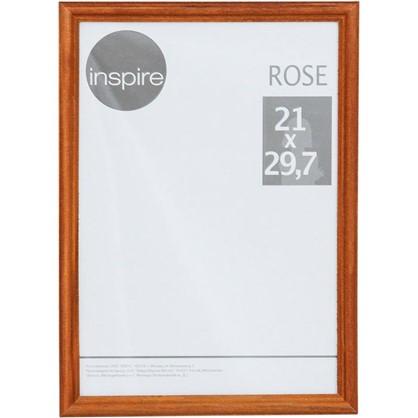 Рамка Inspire Rose 21х30 см дерево цвет коричневый цена
