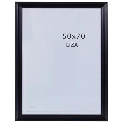 Рамка Liza цвет черный размер 50х70 цена