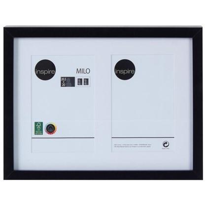Рамка на 2 фотографии 10x15 цвет черный