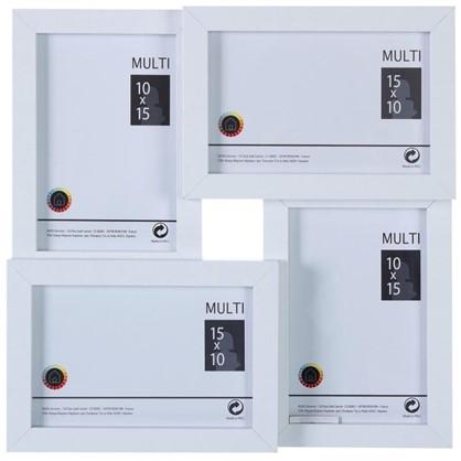 Рамка на 4 фотографии 10x15 цвет белый цена
