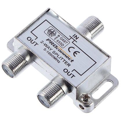 Разветвитель F на 2 TV (5-1000MHz)