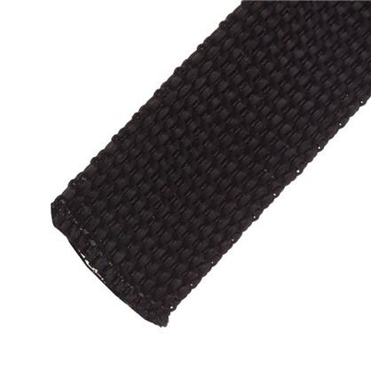Ремень 25 мм 5 м полипропилен цвет черный цена
