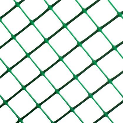 Решетка садовая размер ячейки 24х24 мм высота 50 см цвет хаки-зеленый цена