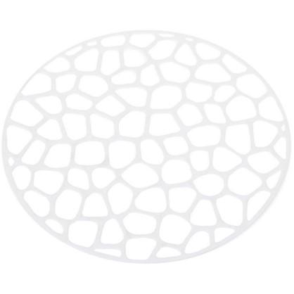 Решетка в мойку круглая D 30см цвет белый цена