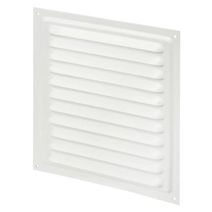 Решетка вентиляционная с сеткой Вентс МВМ 200 с 200х200 мм цвет белый цена