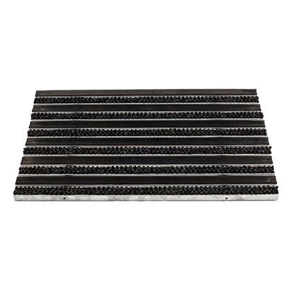 Решетка придверная 390х590 мм резина/текстиль цена