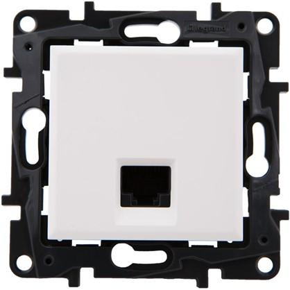Розетка компьютерная Legrand Structura RJ45 UTP категория 5E цвет белый