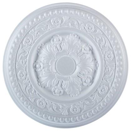 Потолочная розетка инжекционная 38 см C310/38 полистирол цена