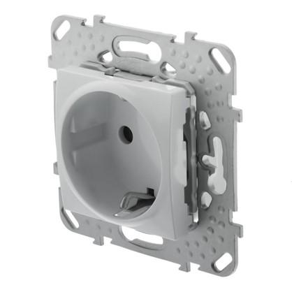 Розетка Schneider Electric Unica с заземлением цвет белый цена