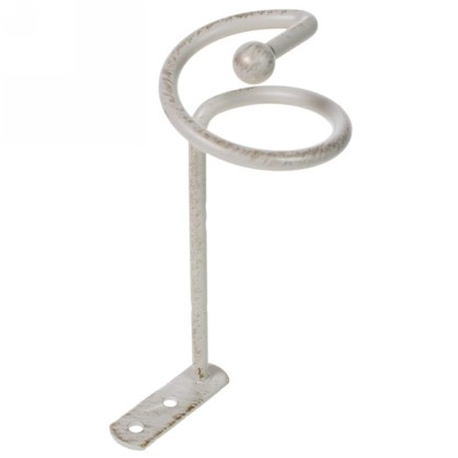 Розетка Спираль металл цвет белый цена