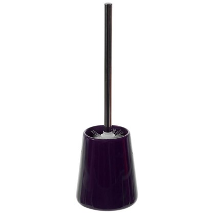 Ершик для унитаза напольный Veta керамика цвет фиолетовый цена