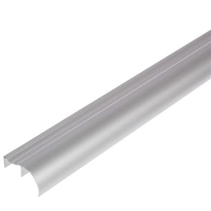 Ручка ассиметричная для ЛДСП 16 мм 2.7 м цвет серый цена
