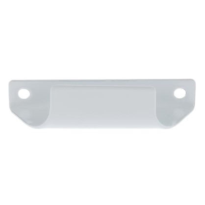 Ручка балконная Palladium C притворная металл цвет белый цена