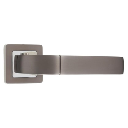 Ручка дверная на розетке ORION QR/HD GR/CP-23 цвет графит/хром цена