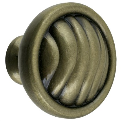Ручка-кнопка Kerron RK-022 BA металл цвет бронза