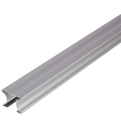 Ручка симметричная для ЛДСП 16 мм 2.7 м цвет серый цена