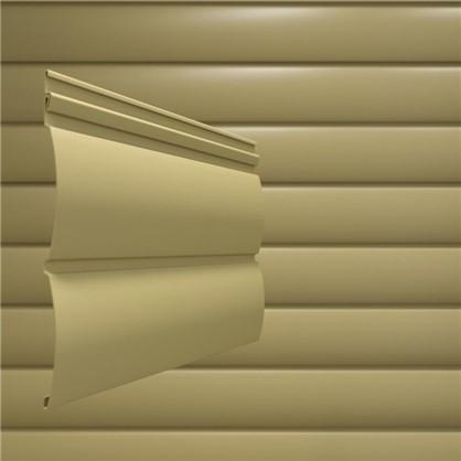 Сайдинг ПВХ блок-хаус 2700х230 мм бежевый 0.62 м2